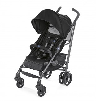 Chicco Lite Way 3 Top BB Baston Bebek Arabası Jet Black