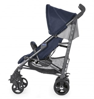 Chicco Lite Way 3 Top BB Baston Bebek Arabası İndia Ink