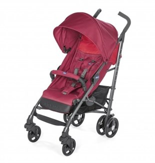 Chicco Lite Way 3 Top BB Baston Bebek Arabası Red Berry