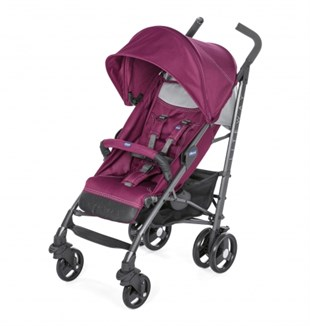 Chicco Lite Way 3 Top BB Baston Bebek Arabası Red Plum