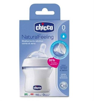 Chicco Natural Feeling Silikon Emzikli PP Biberon 150 ml 0m+ 80711