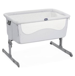 Chicco Next2me Anne Yanı Beşik Light Grey